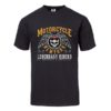 T-shirt Motorcycle New York (noir)